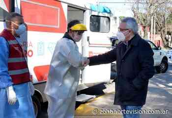 Julio Zamora supervisó un nuevo operativo de detección de casos sospechosos de COVID-19 - Zona Norte Visión