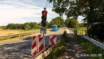 Große Lambertsbrücke in Meppen nur noch halbseitig befahrbar - noz.de - Neue Osnabrücker Zeitung