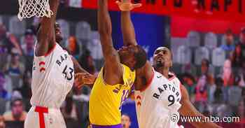 Running Diary: Raptors 107 | Lakers 92