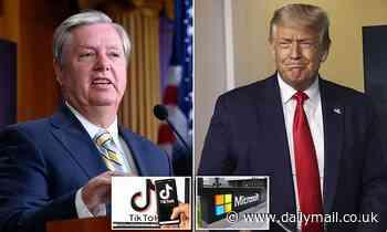 Lindsey Graham says Microsoft should take over TikTok's U.S. operations
