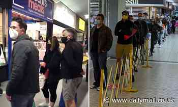COVID-19 panic buying strikes Melbourne as shoppers hit supermarkets head of stage 4 lockdown