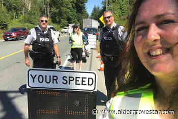 No need for speed: One driver receives home visit, $1000 fine - Aldergrove Star