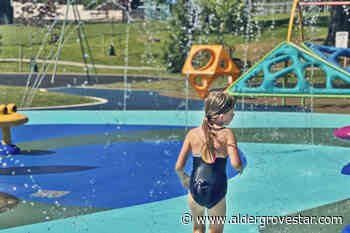 Finishing touches on new Aldergrove spray park completed just in time for heat wave - Aldergrove Star