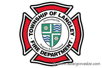 Langley Township fire crews respond to barn fire in Glen Valley - Aldergrove Star