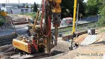 Neue Brücke in Altenbauna wird barrierefrei - hna.de
