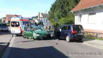 Crash in Gardelegen: Golf-Fahrer (39) fährt alkoholisiert in den Gegenverkehr - az-online.de