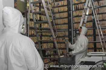 El Ayuntamiento de Progreso redobla acciones de desinfección en edificios públicos para seguridad de los ciudadanos - www.mipuntodevista.com.mx