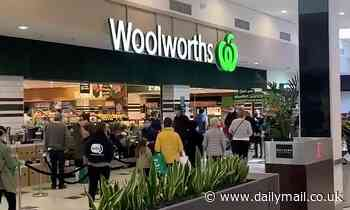 Woolworths announces a buying limit on FIFTY different products across Victoria