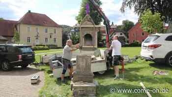 In Balve: Besonderer Fund in Bildstock-Sockel - come-on.de