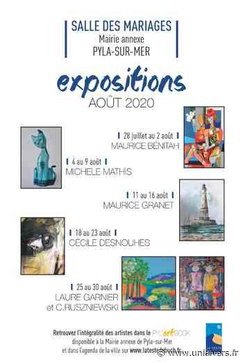 Exposition de Maurice Granet mardi 11 août 2020 - Unidivers