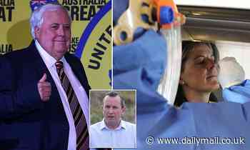Western Australia Governor Mark McGowan criticizes billionaire Clive Palmer for taking the state government to court