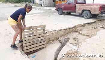 Hunden lluvias zanjas en Sabinas [Coahuila] - 30/07/2020 - Periódico Zócalo