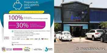 SIAPA Tepic informa que vence el plazo para recibir descuentos - Meridiano.mx