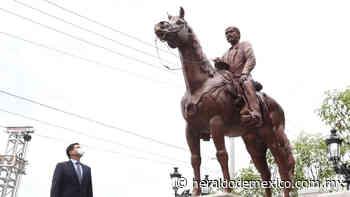 """Antonio Echevarría devela estatua de """"El Tigre de Álica"""" en Tepic, Nayarit - El Heraldo de México"""
