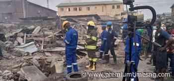Fire guts mattress market in Lagos - Premium Times