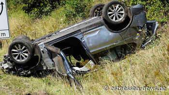 Unfall auf der A7 Richtung Kassel: Pkw kracht gegen Lkw - Osthessen News