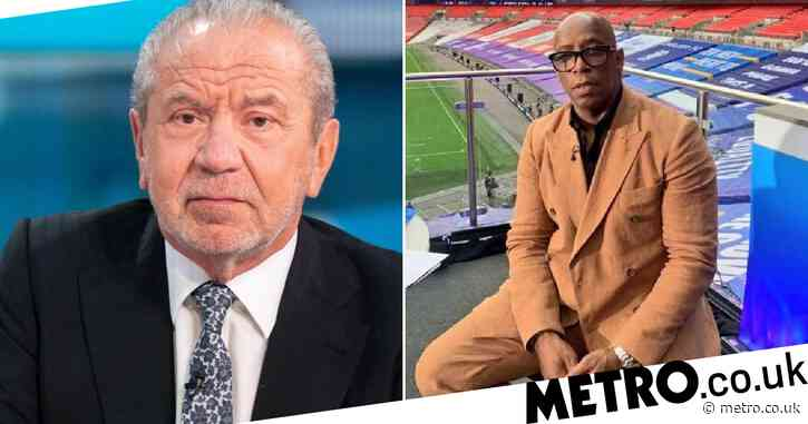 """Lord Alan Sugar told the """"Despicable Troll"""" to """"shut up"""" because he strongly opposed Ian Wright's tweet"""