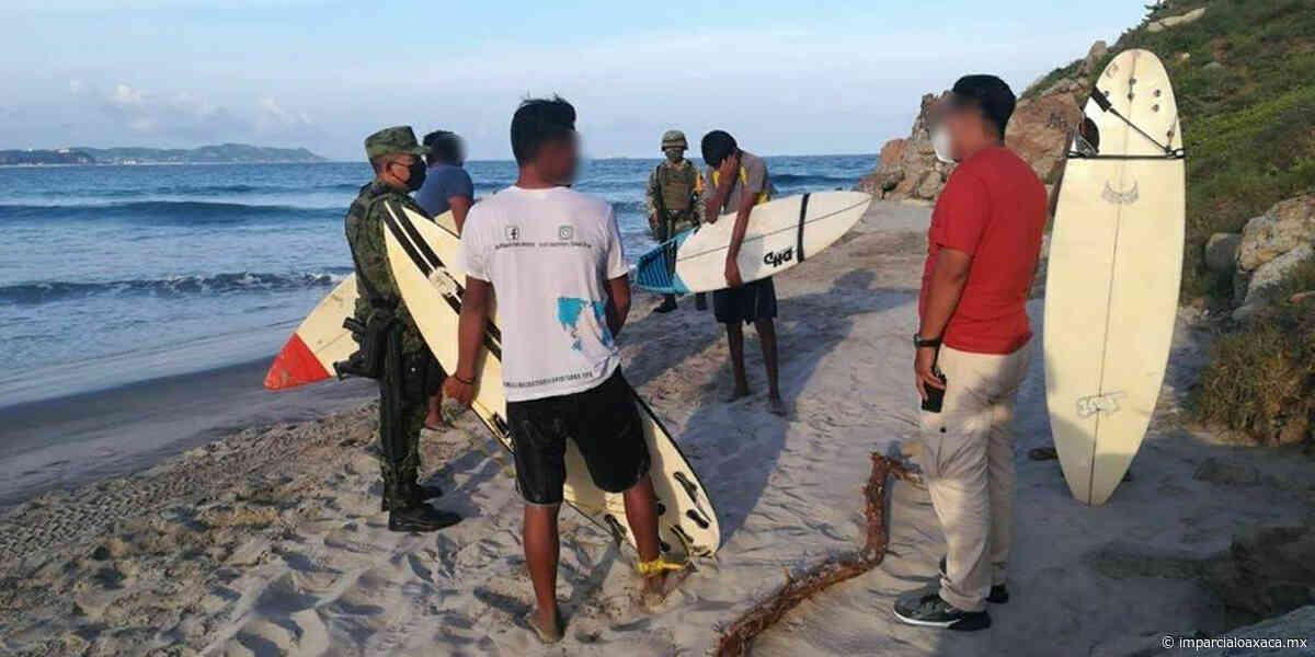 Desalojan a surfistas en Salina Cruz - El Imparcial de Oaxaca