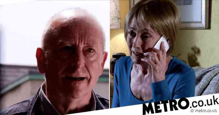 Destroyer of Coronation Street: Geoff Metcalfe reveals Elaine's evil secret and makes her disappear