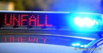 Vorfahrt genommen: Motorradfahrer bei Unfall in Birkenwerder verletzt - Märkische Onlinezeitung