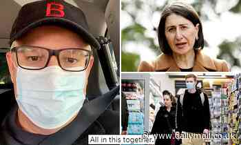Scott Morrison wears a mask when he arrives at the store-Sydneysiders are urged to wear a mask