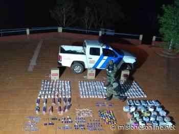 Prefectura secuestró marihuana y mercaderías de origen ilegal en Santa Ana - Misiones OnLine