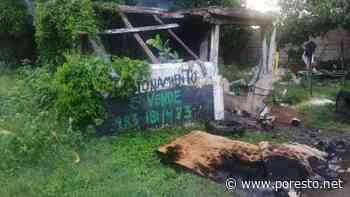 Se incendia predio abandonado en el centro de Chetumal - PorEsto