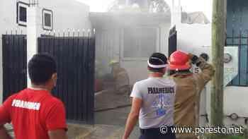 Controlan un connato de incendio en la colonia proterritorio de Chetumal - PorEsto