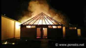 Se incendia centro de canotaje en Chetumal - PorEsto