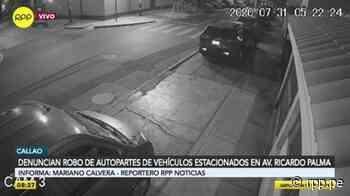 """""""Me desmantelaron todo el auto"""": vecinos del Callao denuncian aumento de robo de autopartes - RPP Noticias"""