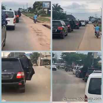 Emeka Ihedioha And His Convoy Arrive In Owerri In Fashionable Manner (Video) - GH Gossip