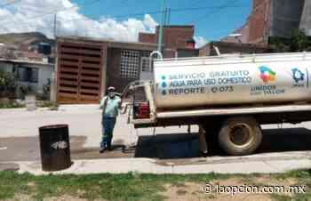 Duran cuatro días sin agua en fraccionamiento montañas de parral - La Opcion