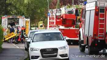 Drehleiter kommt nicht durch: Schongaus Feuerwehrkommandant richtet Appell an rücksichtslose Parker - Merkur.de
