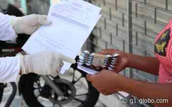 Case mantém entrega domiciliar de medicamentos para usuários de Aracaju durante o mês de agosto - G1