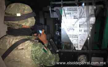"""Se cumple un año del atentado al periódico """"El Monitor de Parral"""" - El Sol de Parral"""