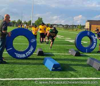 Fort Saskatchewan Falcons take to the field for summer training - Fort Saskatchewan Record