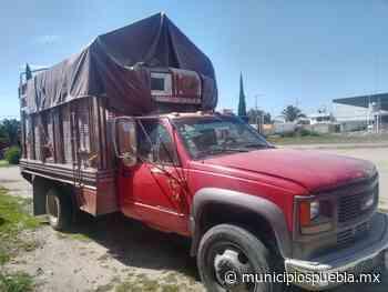 Ladrones abandonan una camioneta robada en Tecamachalco - Municipios Puebla