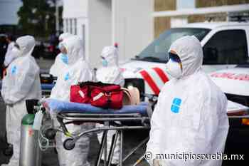 Sanitizan viviendas de personas infectadas por COVID en Tecamachalco - Municipios Puebla