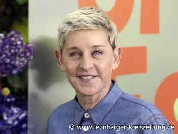 Vergiftete Atmosphäre: Ellen DeGeneres bittet Mitarbeiter um Entschuldigung - Leonberger Kreiszeitung