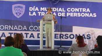 Angela Quiroga imparte conferencia en jornada vs trata de personas - El Tiempo de México