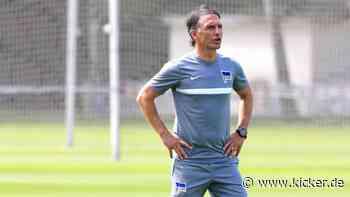 Prominente Testspielgegner für Hertha BSC - kicker