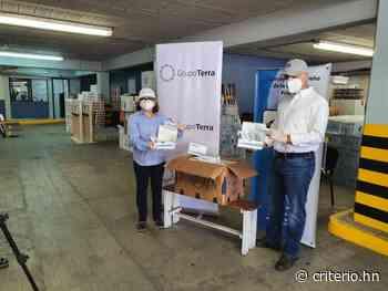 Grupo Terra y Fundación Terra entregan equipo al Hospital San Felipe de Tegucigalpa - criterio.hn