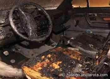Encuentran auto con reporte de robo, calcinado en Mixquiahuala - La Silla Rota