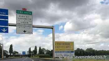 Lens: Le point sur les travaux de la A21 - L'Avenir de l'Artois