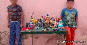 Conmueven niños que venden sus juguetes para apoyar a sus padres económicamente - El Horizonte