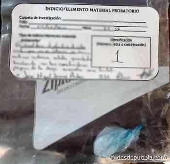 Desde Tlaxcala: SSC detiene a una persona con posesión de droga en Xaltocan - DesdePuebla