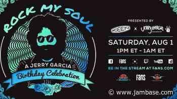 Today's Livestreams, August 1, 2020: Jerry Garcia Birthday Celebration, moe., Lolla2020 & More - JamBase