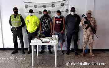 Capturan a dos sujetos señalados de microtráfico en Ariguaní, Magdalena - Diario La Libertad