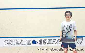 Federico Sosa el mejor en squash juvenil - El Sol de Tlaxcala