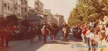 Desfile militar en Santo Domingo en los años 70 - La Rioja